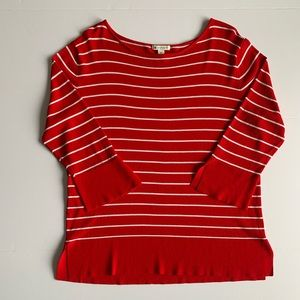Striped Knit Spanner Top